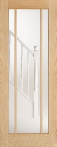 Oak Lincoln Glazed Door