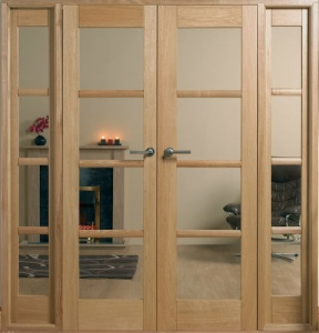 Internal Oak Oslo W6 Room Divider