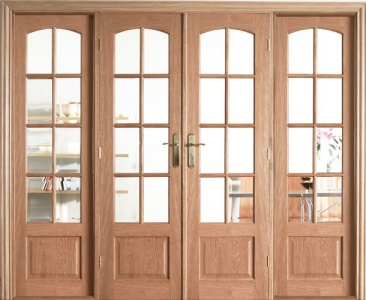 Internal Oak W8 Room Divider