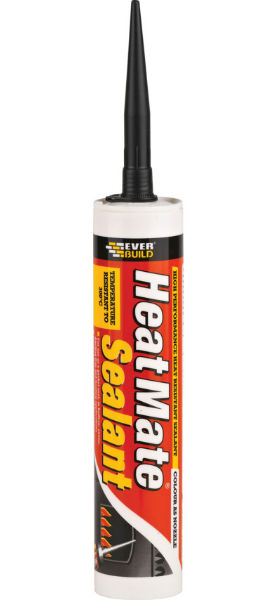 High Heat Caulking : Heatmate high temperature silicone sealant atlantic timber