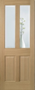Pre-Finished Oak Richmond with Clear Glass