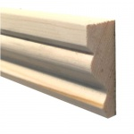 Ogee Architrave Pine 44mm x 21mm