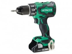 Hitachi 18V Cordless Combi Drill with 2 x 3.0Ah Lithium Ion Batteries