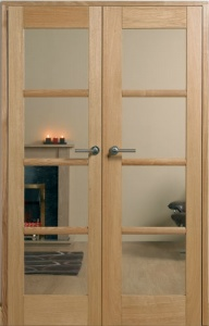 Internal Oak Oslo W4 Room Divider