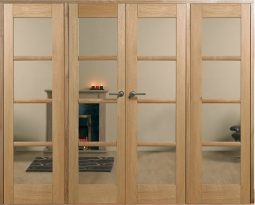 Internal Oak Oslo W8 Room Divider