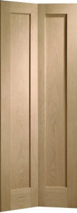 Internal Oak Pattern 10 Bi-Fold Door