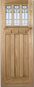 Oak Tuscany Tulip Door
