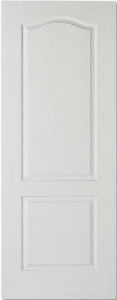 White Moulded Classical 2 Panel Door