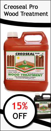 Creoseal Professional Wood Treatment Offer