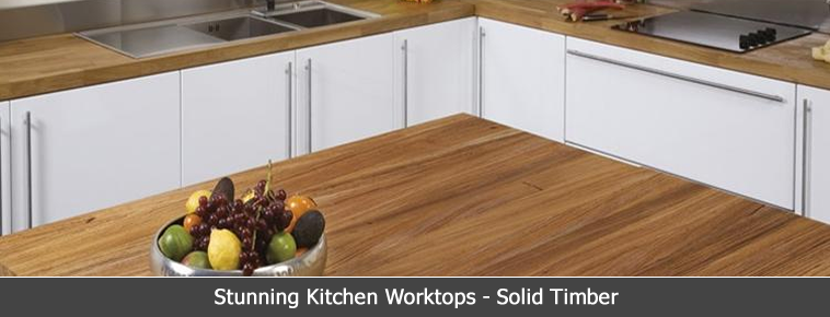 Solid Timber Kitchen Worktops