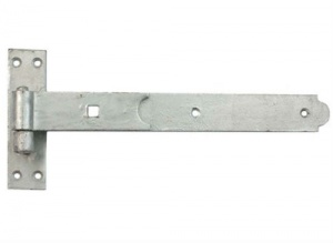 12'' Straight Hook & Band galvanised (Pair)