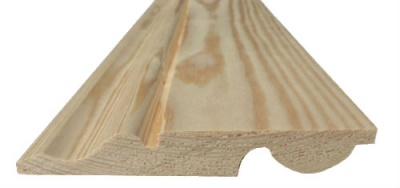 Ogee/Torus Reversible Pine Skirting 125mm x 25mm