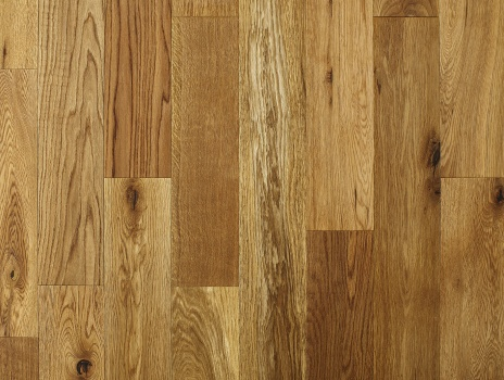 125mm x 18/5 Engineered Oak Flooring Brushed and Oiled (1.2m2 pack)