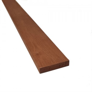 25mm x 100mm (4'' x 1'') x 3m Joinery Sapele - Planed All Round
