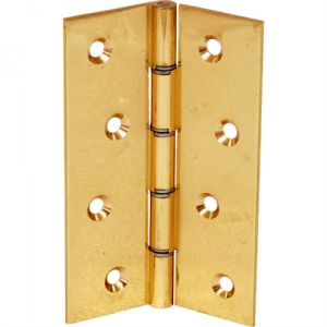 4'' DSW Polished Brass Butt Hinge