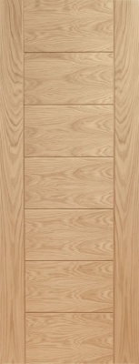 Internal Pre-Finished Oak Palermo Door