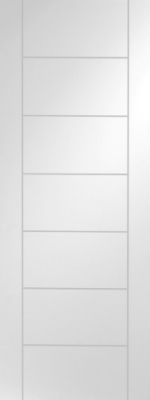 Internal White Primed Palermo Door