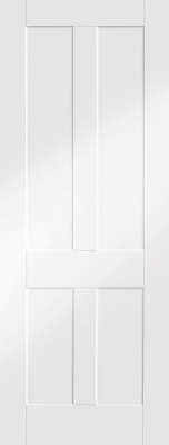 Internal White Primed Victorian Shaker Door
