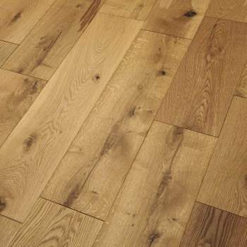 190mm x 20/6 Engineered Oak Flooring Brushed and Oiled (1.805m2 pack)
