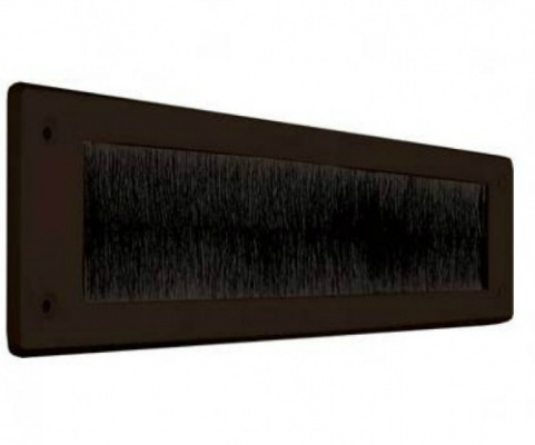 Brown Letterbox Draught Excluder