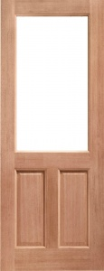 2XG External Hardwood Door 2 Panel