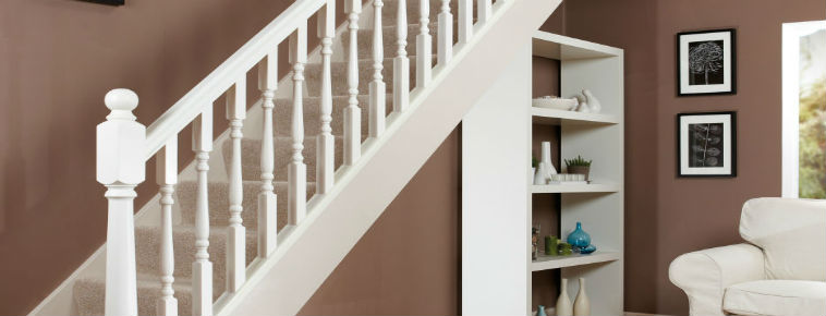 Our White Primed Stair Parts Are An Ideal Way To Save Time And Effort.  Often The Priming And Undercoating Can Be The Most Challenging Part Of The  Job.