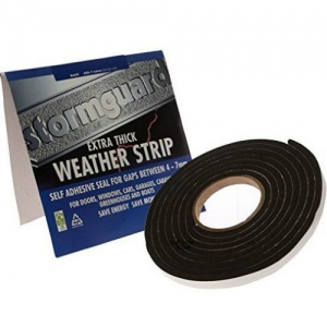 Extra Thick Self Adhesive Weather Strip Black