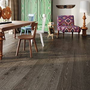 Brownie Family Oak Matt Engineered Wood Flooring