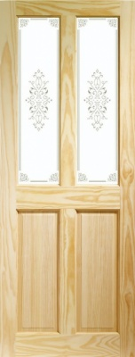 Internal Clear Pine Victorian with Campion Glass