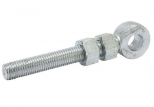4'' Adjustable Gate Eye 12mm Pin Galvanised (single)