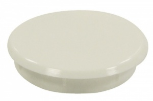 Hinge Cover Cap White (pack of 2)