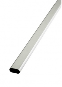 Rothley Chrome Plated Oval Tube