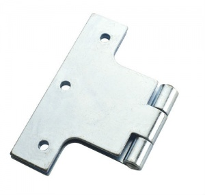 3'' Parliament Hinge Steel Zinc Plated Pair