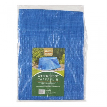 Harris Blue Tarpaulin - Small (5' x 7')
