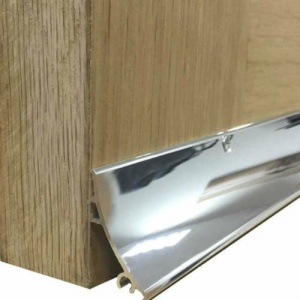 32mm Rain Deflector Anodised Aluminium 838mm