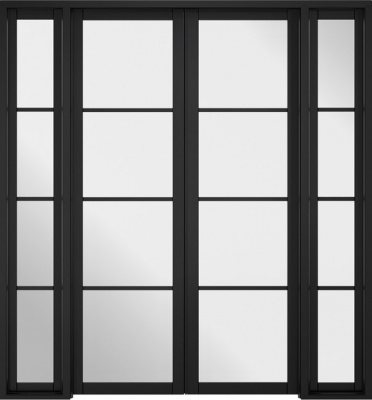 Internal Soho Black Room Divider