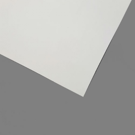 White Painted One Side Hardboard 3mm
