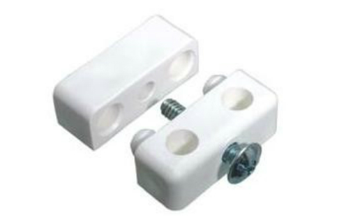 White KD Assembly Block (Pack of10)