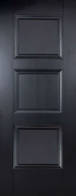 Internal Primed Black Amsterdam Door