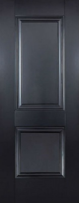 Internal Primed Black Arnhem Door