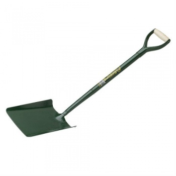 Bulldog Tapered Mouth All Steel Shovel 28''
