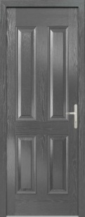 External Composite Carsington Grey Door Set