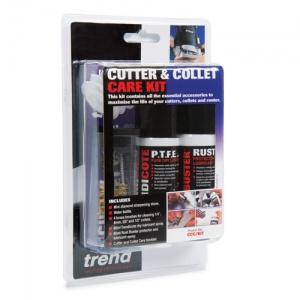 Trend Cutter and collet care kit UK mainland only