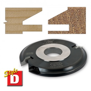 Trend Style D Bevel 5mm Groove 30mm Bore