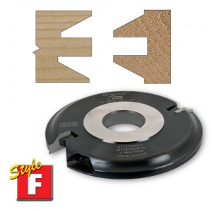 Trend Style F Bevel 9mm Groove 30mm Bore