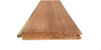Cedar T&G Cladding 19mm x 100mm V One Side