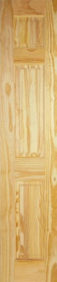 Internal Clear Pine 3 Panel Half Door