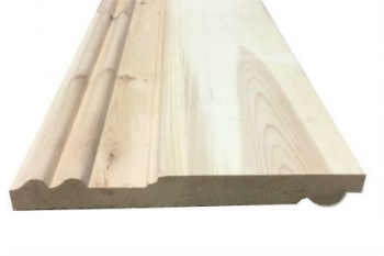 Double Sunk/Torus Reversible Pine Skirting Board 225mm x 38mm 4.5 and 4.8 metres