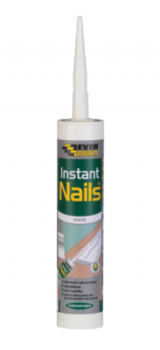 Everbuild Instant Nails - White