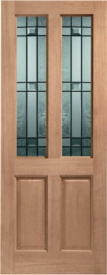 External Hardwood Malton Door with Drydon Glass